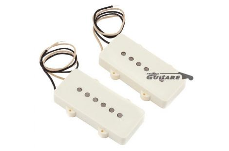 Jeu de micros Fender Jazz Master 65 Pure Vintage White