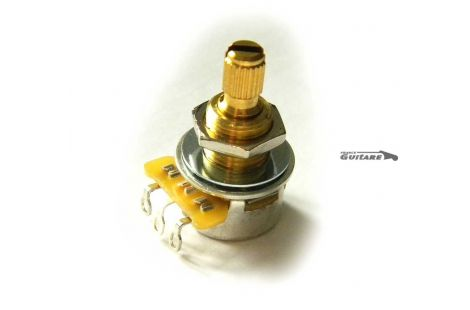 Mini potentiomètre CTS Audio Log 250K axe fendu
