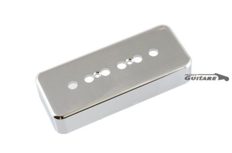 Capot de micro nickel chrome P90 Soap Bar mini humbucker