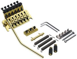 Tremolo Vibrato Floyd Rose Original Finition Gold Made in Germany