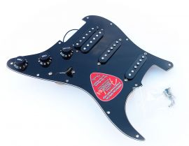 Loaded Pickguard Fender Stratocaster HSS American Special Black