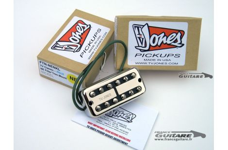 Jeu de micros TV JONES Classic Pickups Double vintage