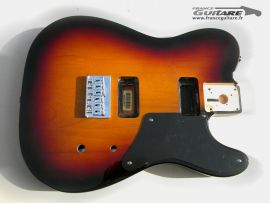Corps Fender Cabronita 60's Sunburst 3 Tons HH