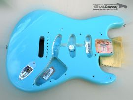 Corps Fender Strat American Vintage 1962 Tropical Turquoise
