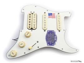 Loaded Pickguard Stratocaster American Deluxe HSS 2008 SCN Samarium