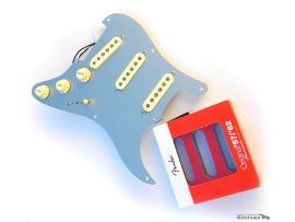 Loaded Pickguard assemblé Aluminium anodisé Stratocaster American Vintage 57/62