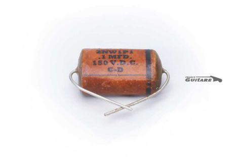 Condensateur Vintage Reissue Repro Cornell Dubilier ZNW1P1