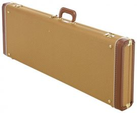 Etui Guitare Fender Flight Case Tweed G and G Strat Tele rouge
