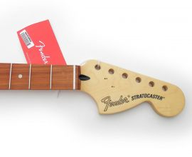 Manche Stratocaster Fender Deluxe Roadhouse Pau Ferro