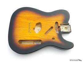 Corps Fender Telecaster Classic Player Baja 50s Ash Sunburst 2 tons