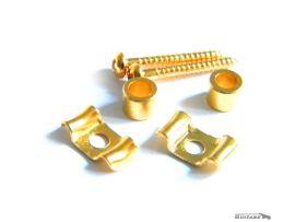 Paire de Guides Cordes Kluson Papillon Stratocaster Gold
