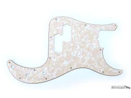 Pickguard Precision Bass American Standard/Pro Aged Pearl Cream WD