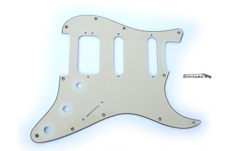 Pickguard Fender American Deluxe Mint Green HSS Aged Relic