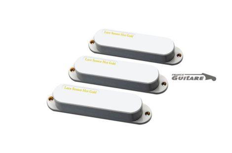 Jeu de micros Lace Sensor Hot Gold pour Fender Stratocaster