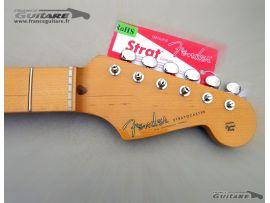 Manche Stratocaster Artist Eric Johnson avec Tuners et Plaque de manche