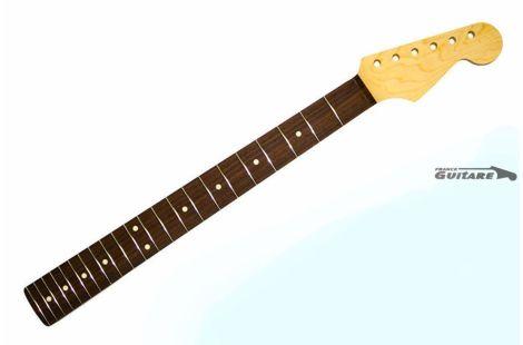 Manche Allparts Stratocaster Moderne SRF Maple neck touche Palissandre