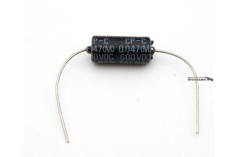Condensateur Black Bee papier huilé USA .047uF 600VDC
