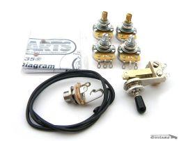 Kit de câblage Gibson ES 335 allparts usa EP4147-000