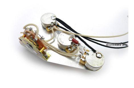 Plaque Stratocaster précâblée assembly circuit American Standard