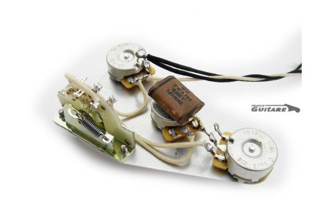 Plaque Stratocaster précâblée circuit American Vintage 1955/1959