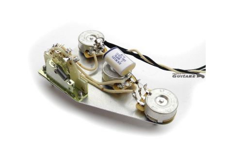 Plaque Stratocaster précâblée circuit American Vintage 1960/1965