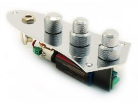 Jazz Bass Electronique active East Preamp J-Tone Circuit 2 bandes