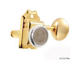 Mécaniques Gotoh 6 en ligne à blocage MGT Gold Strat et Tele