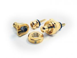 Schaller Strap Locks Schaller Deluxe Gold 2018