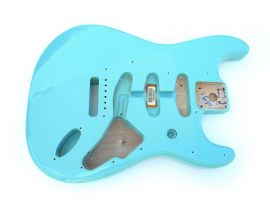 Corps Fender Stratocaster Classic 60 Limited Edition FSR cerulean blue