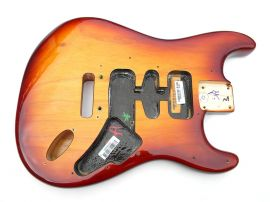 Corps Fender Stratocaster American Professional Ash Sienna Sunburst