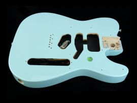 Corps Fender Deluxe Nashville Telecaster Daphne Blue body 2018