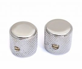 Boutons Fender Telecaster Knobs Chrome Pure Vintage 60's