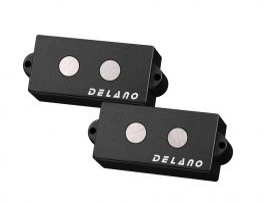 Micros DELANO Pickups Precision Bass Ferrite Split Coil PMVC4 FEM2