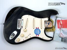 Corps Assemblé Fender Stratocaster American Standard Black 2012
