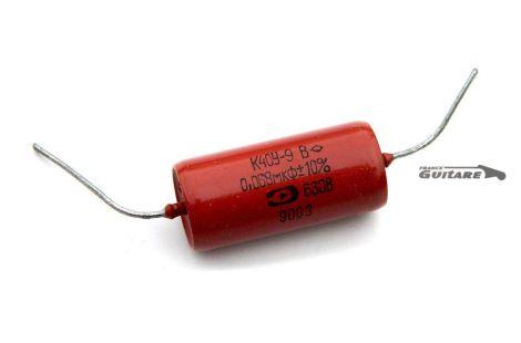 Condensateur papier huilé PIO russe amplificateur K40Y9 .068uf/630V