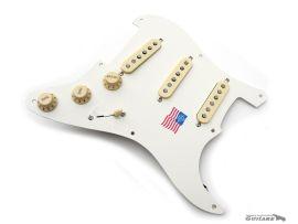 Loaded Pickguard Fender Stratocaster Fender Eric Johnson Parchment White
