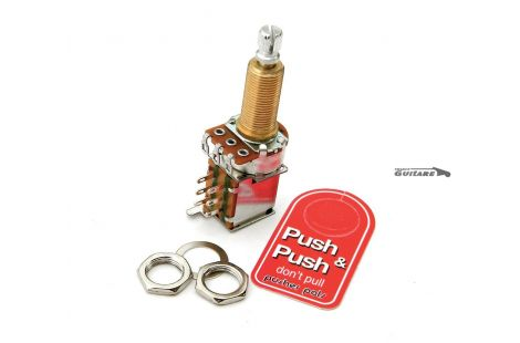 Potentiomètre Push Push bourns 500K Audio Log XL