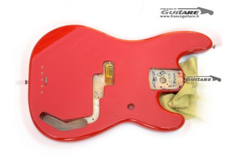 Corps de Precision Bass Fender Classic 50s Fiesta Red Vintage