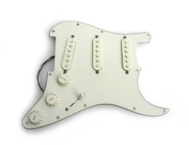 Loaded Pickguard Fender Stratocaster Standard Mexico Mint Green 2009