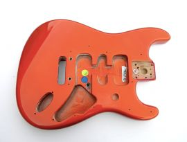 Rare Corps Fender Stratocaster Jeff Beck American Deluxe 2005 Candy Tangerine