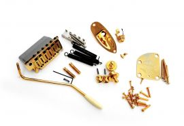 Kit Fender Stratocaster Hardware Accastillage Gold Commemorative 2014