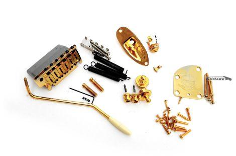 Kit Fender Stratocaster Hardware Accastillage Gold Commemorative 2014