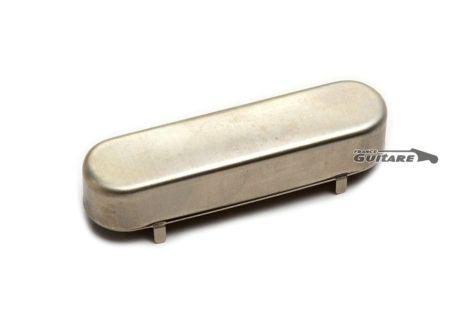 Capot cache Micro Manche Stratocaster nickel Aged Relic