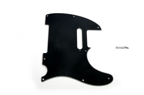 Pickguard Fender Telecaster Am Std 3 plis noir black d'occasion