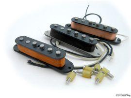 Jeu de Micros David Gilmour Black Stratocaster Fender Custom Shop Seymour Duncan