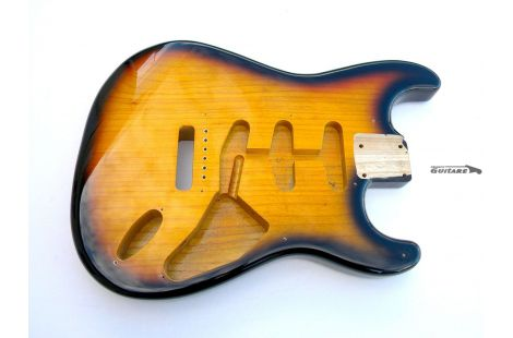 Corps Fender Stratocaster Body frêne 1954 commemorative 2 tons sunburst
