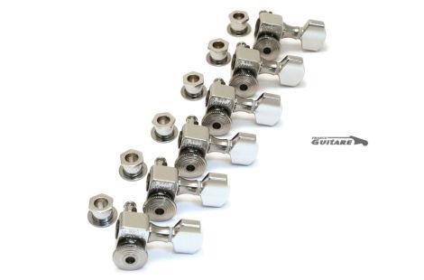 Mecaniques Sperzel autobloquantes chrome 6T strat tele