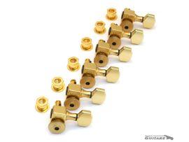 Mécaniques Sperzel 6TL Gold autobloquantes Stratocaster Telecaster Standard USA