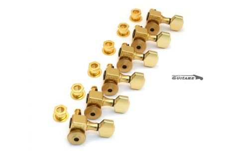 Mecaniques Sperzel Standard autobloquantes Serie 6T gold