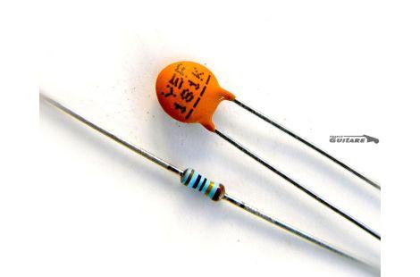 Kit Treble Bleed Condensateur Céramique 180pf et Résistance 150 kohms